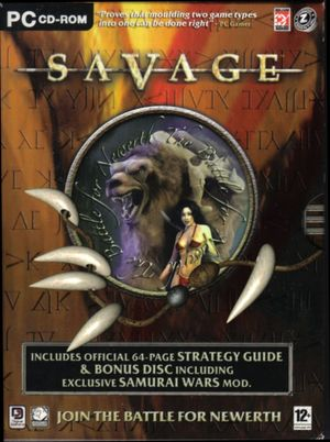 Cover for Savage: The Battle for Newerth.
