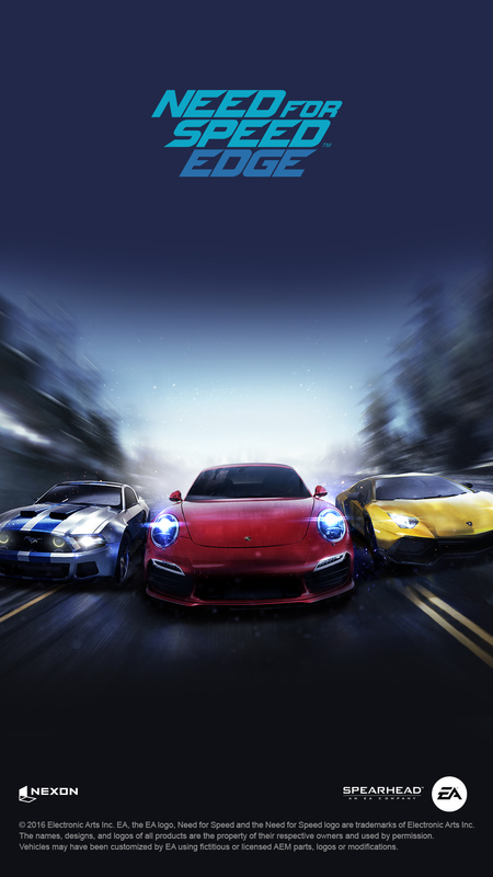 Cover for Need for Speed: Edge.