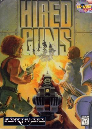 Cover for Hired Guns.