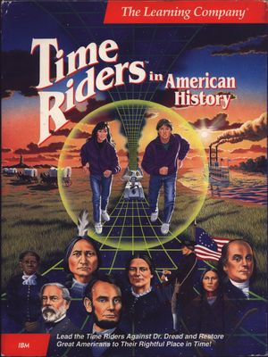 Cover for Time Riders in American History.
