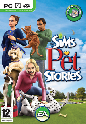 Cover for The Sims Pet Stories.