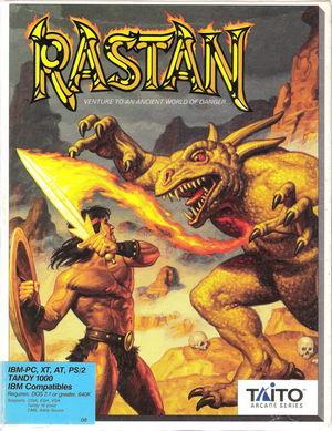 Cover for Rastan Saga.
