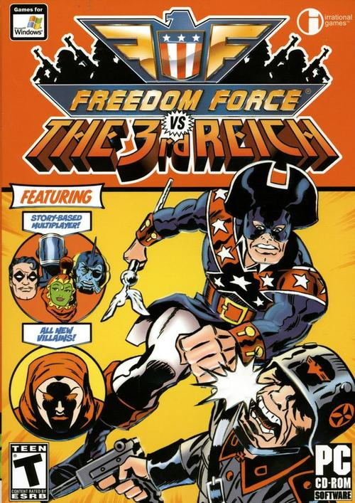 Cover for Freedom Force vs the 3rd Reich.