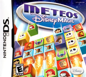 Cover for Meteos: Disney Magic.