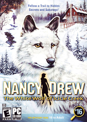 Cover for The White Wolf of Icicle Creek.