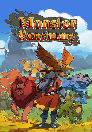 Cover for Monster Sanctuary.