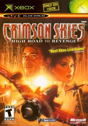 Cover for Crimson Skies: High Road to Revenge.