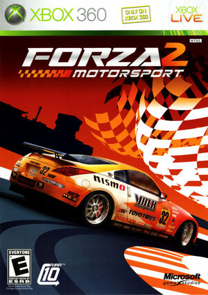 Cover for Forza Motorsport 2.
