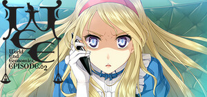 Cover for WORLD END ECONOMiCA episode.02.