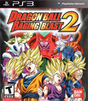 Cover for Dragon Ball: Raging Blast 2.