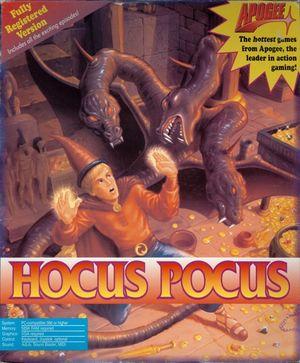 Cover for Hocus Pocus.