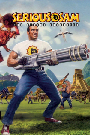 Cover for Serious Sam: The Second Encounter.