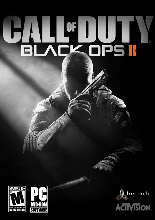 Cover for Call of Duty: Black Ops II.