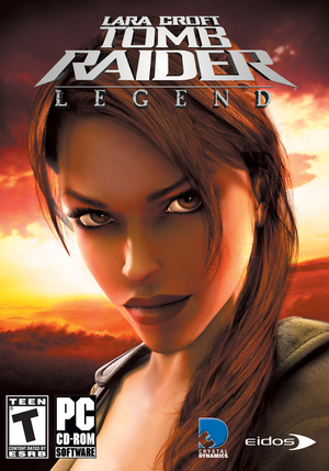 Cover for Tomb Raider: Legend.