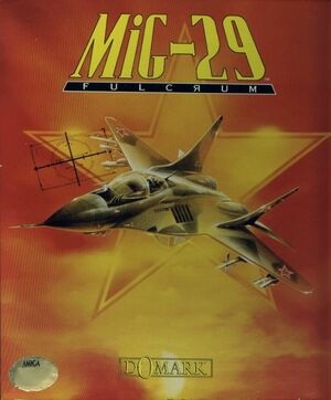 Cover for MiG-29 Fulcrum.
