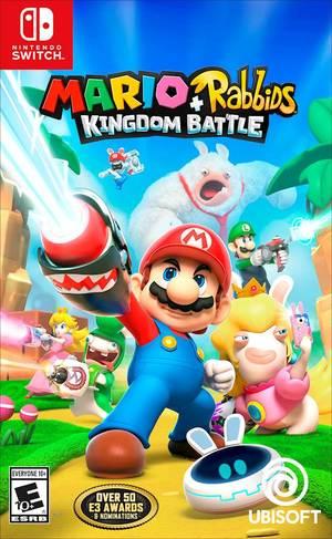 Cover for Mario + Rabbids Kingdom Battle.