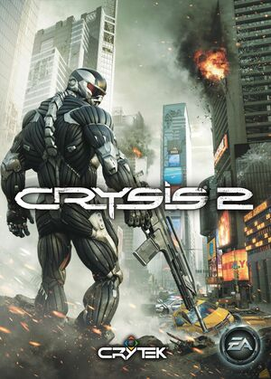 Cover for Crysis 2.