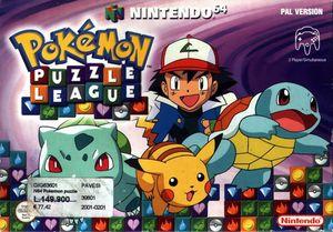 Cover for Pokémon Puzzle League.