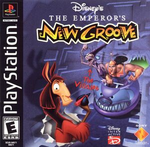 Cover for The Emperor's New Groove.
