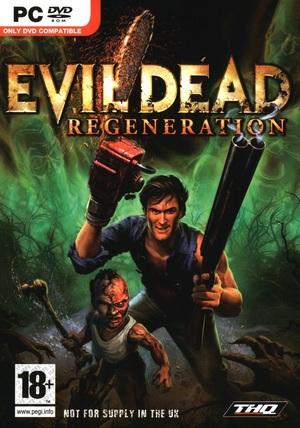 Cover for Evil Dead: Regeneration.
