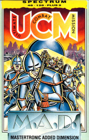 Cover for UCM: Ultimate Combat Mission.