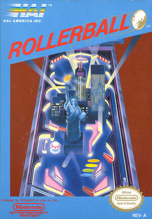 Cover for Rollerball.