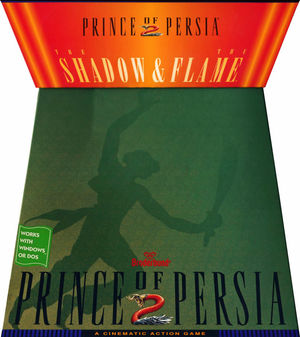 Cover for Prince of Persia 2: The Shadow and the Flame.