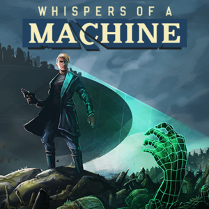 Cover for Whispers of a Machine.