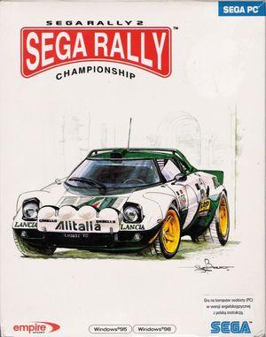 Cover for Sega Rally 2.