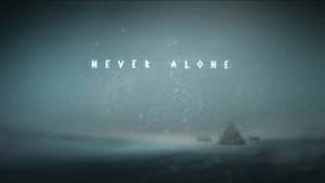 Cover for Never Alone.