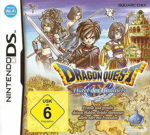 Cover for Dragon Quest IX: Sentinels of the Starry Skies.