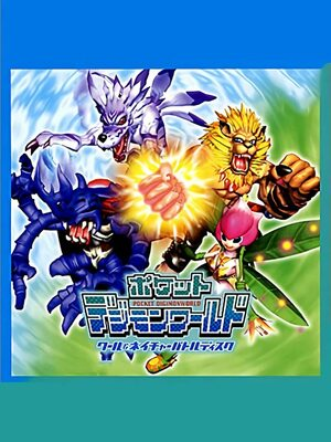 Cover for Pocket Digimon World: Cool & Nature Battle Disc.