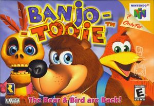 Cover for Banjo-Tooie.