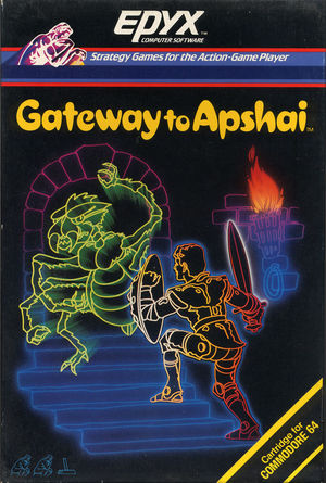 Cover for Gateway to Apshai.