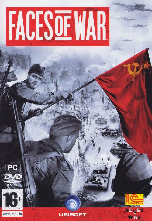 Cover for Faces of War.