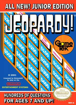 Cover for Jeopardy! Junior Edition.