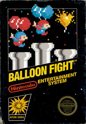 Cover for Balloon Fight.