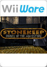 Cover for Stonekeep: Bones of the Ancestors.