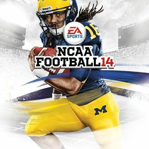 Cover for NCAA Football 14.