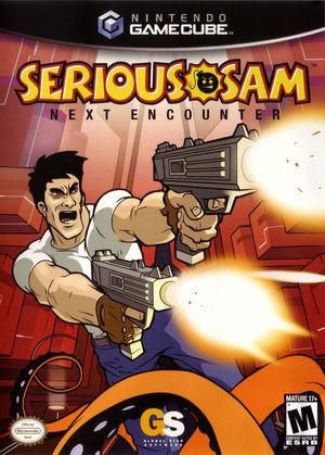 Cover for Serious Sam: Next Encounter.