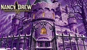 Cover for Nancy Drew: Treasure in the Royal Tower.