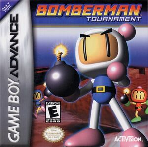 Cover for Bomberman Tournament.