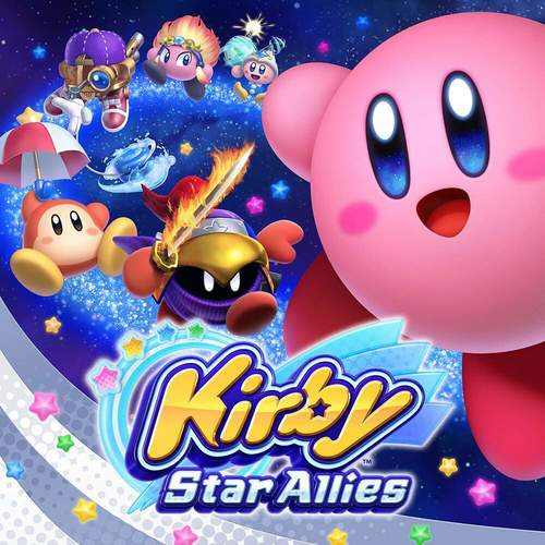 Cover for Kirby Star Allies.