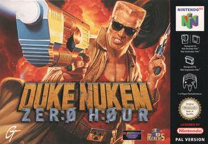 Cover for Duke Nukem: Zero Hour.