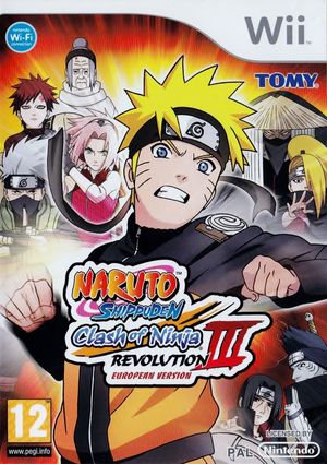 Cover for Naruto Shippūden: Clash of Ninja Revolution 3.