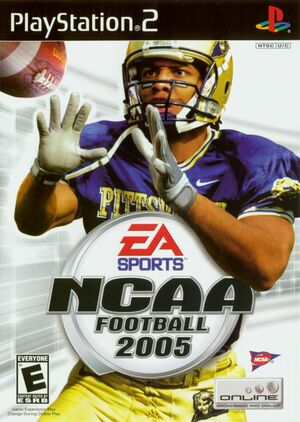 Cover for NCAA Football 2005.