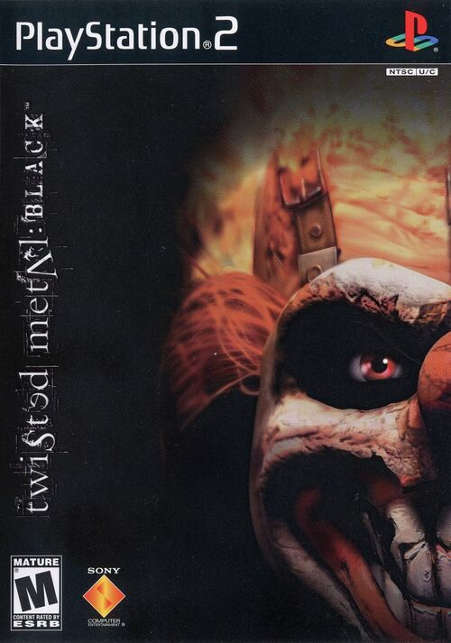 Cover for Twisted Metal: Black.