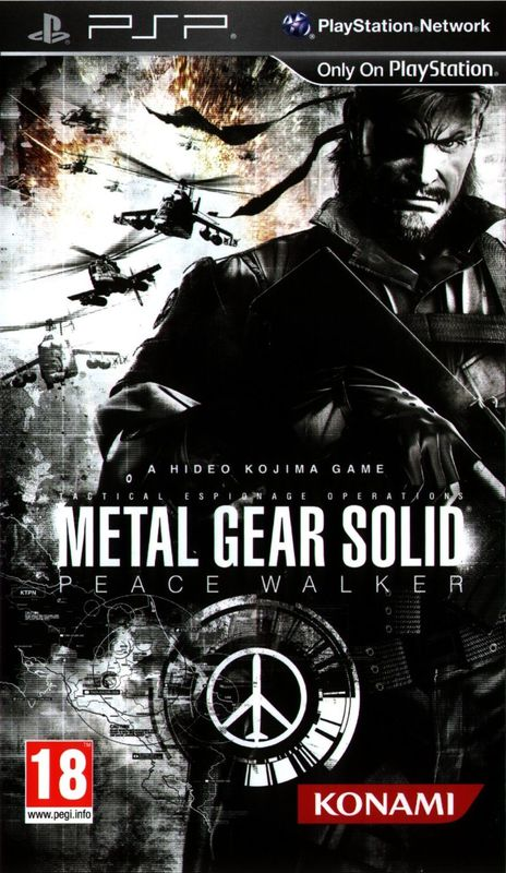 Cover for Metal Gear Solid: Peace Walker.