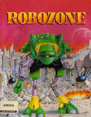 Cover for Robozone.