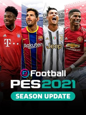 Cover for eFootball PES 2021.